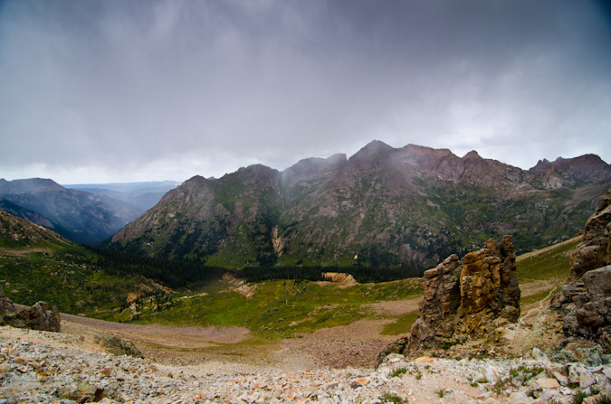Storms in Chicago Basin