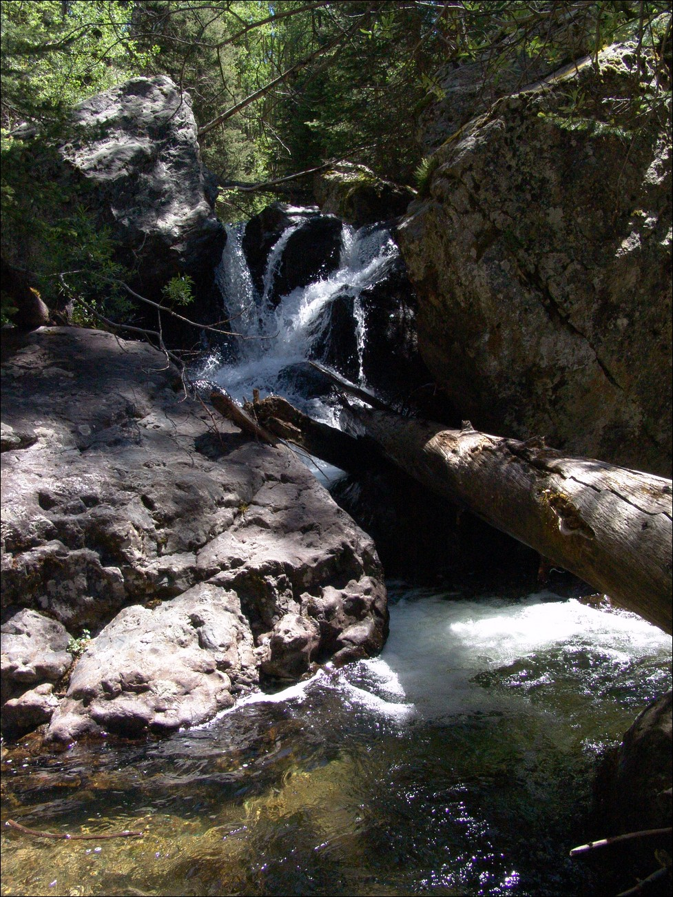 Waterfall at Cottonwood Creek
