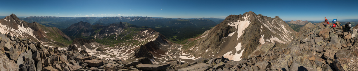 Gladstone Peak Summit Panorama