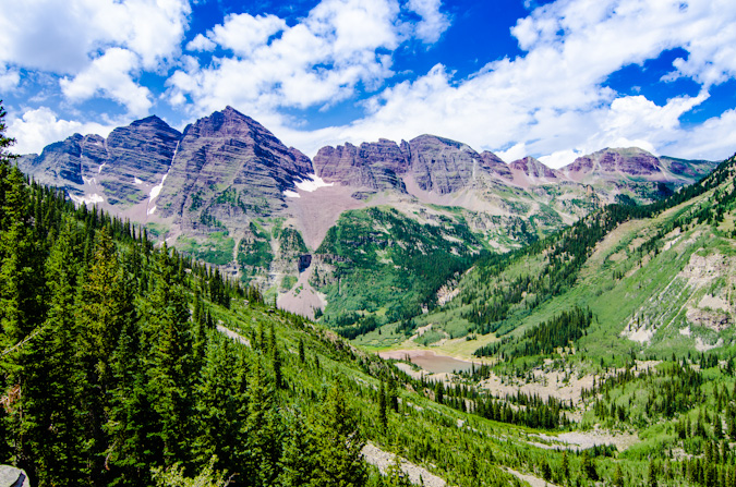Maroon Bells parting shot