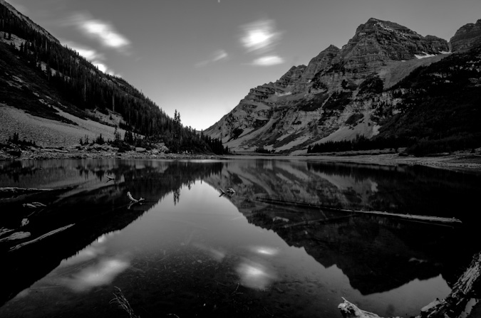 Maroon Peak long exposure with ND filter