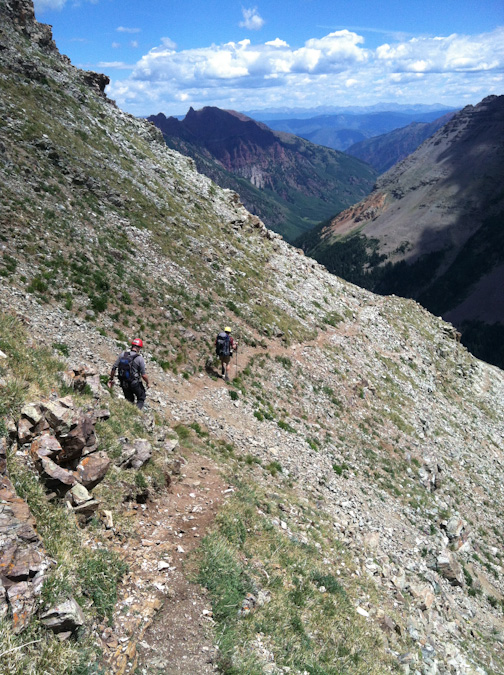 Maroon Peak descent