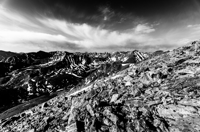 Monochrome Sawatch Range