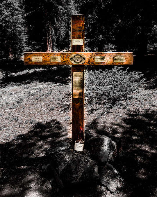 Mount Massive Blackhawk Helicopter Memorial Cross