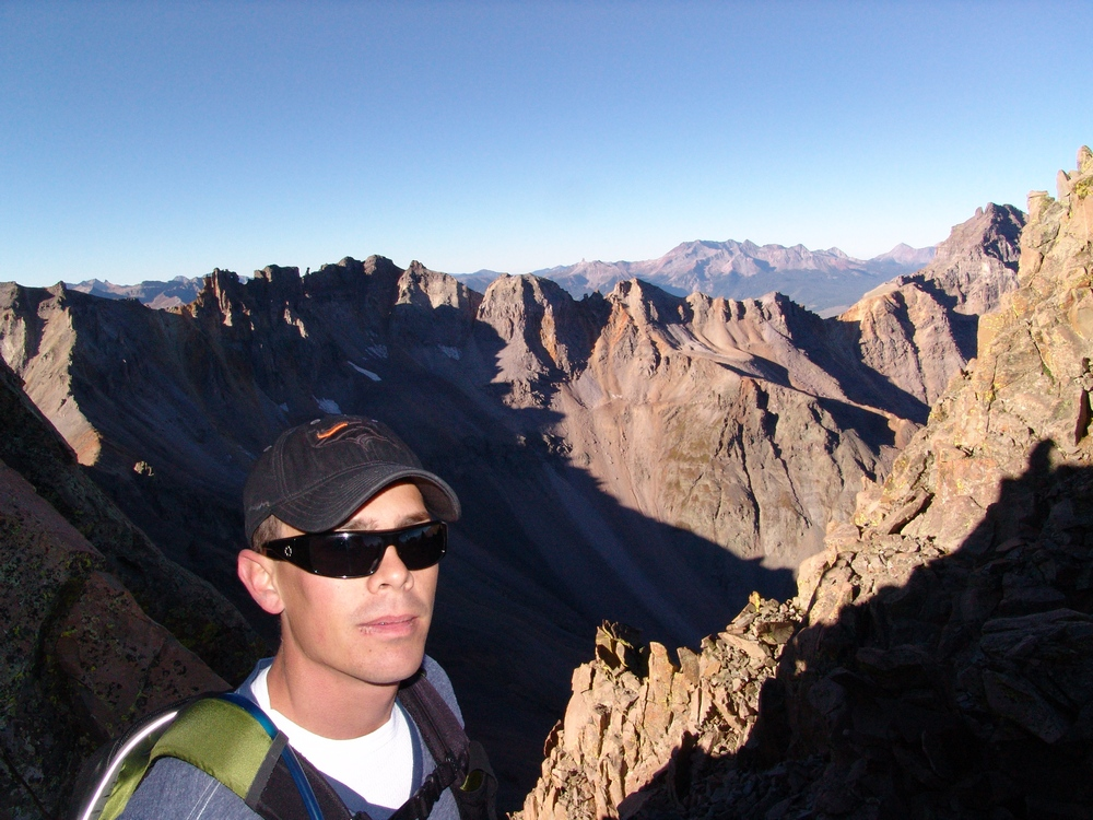 Arron on the Southwest Ridge