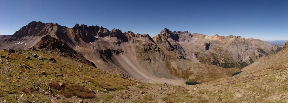 Blue Lakes Pass Pano