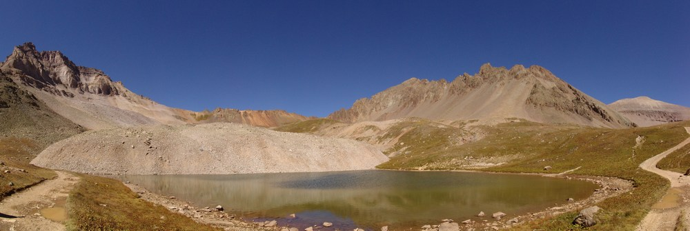 Gilpin and Mount Sneffels Lake Pano