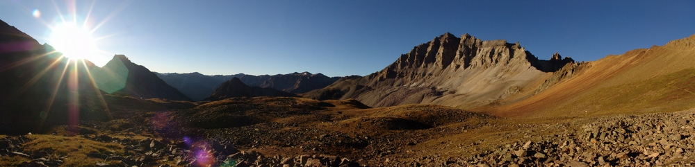 Gilpin at sunrise pano