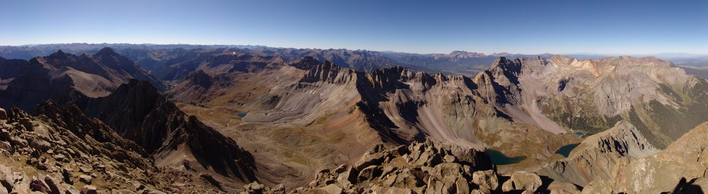 Mount Sneffels Summit Pano