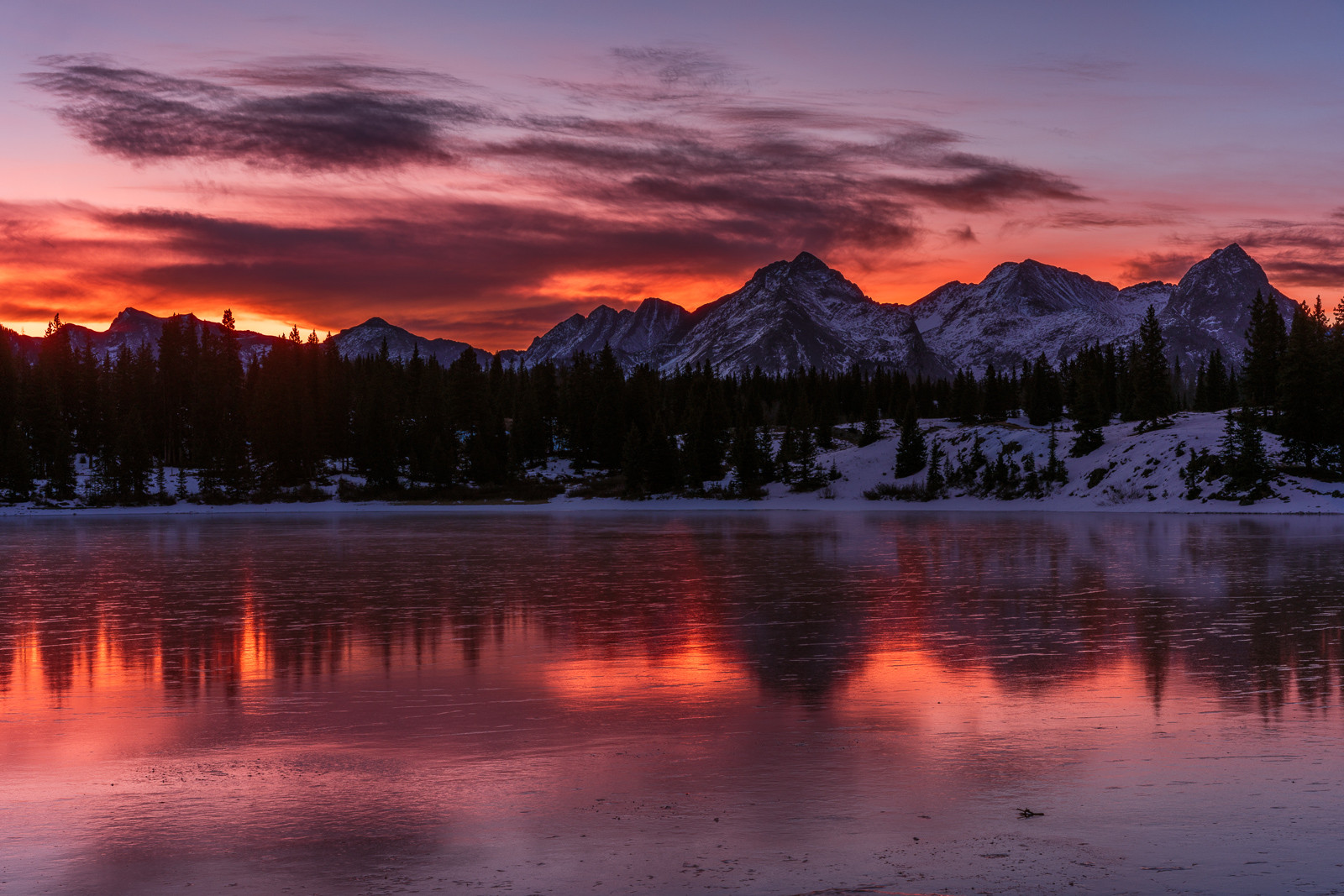 Molas Lake sunrise