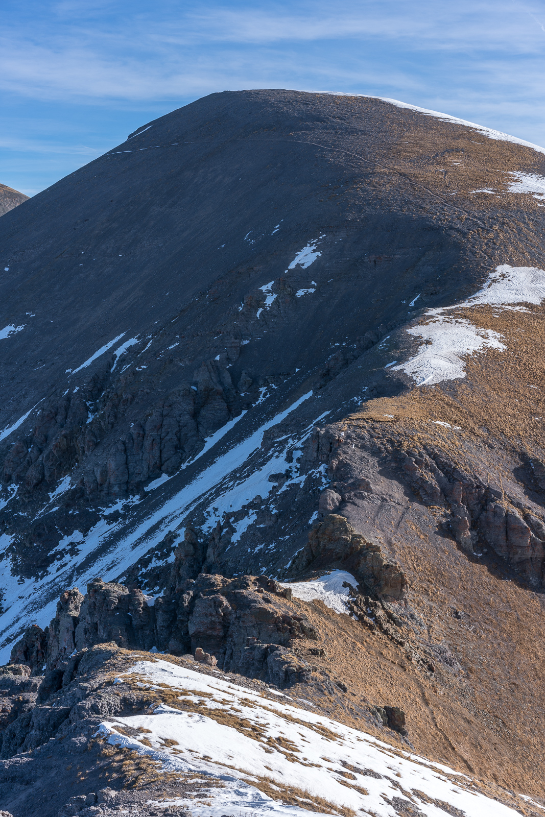 Spencer Peak from UN 12,899