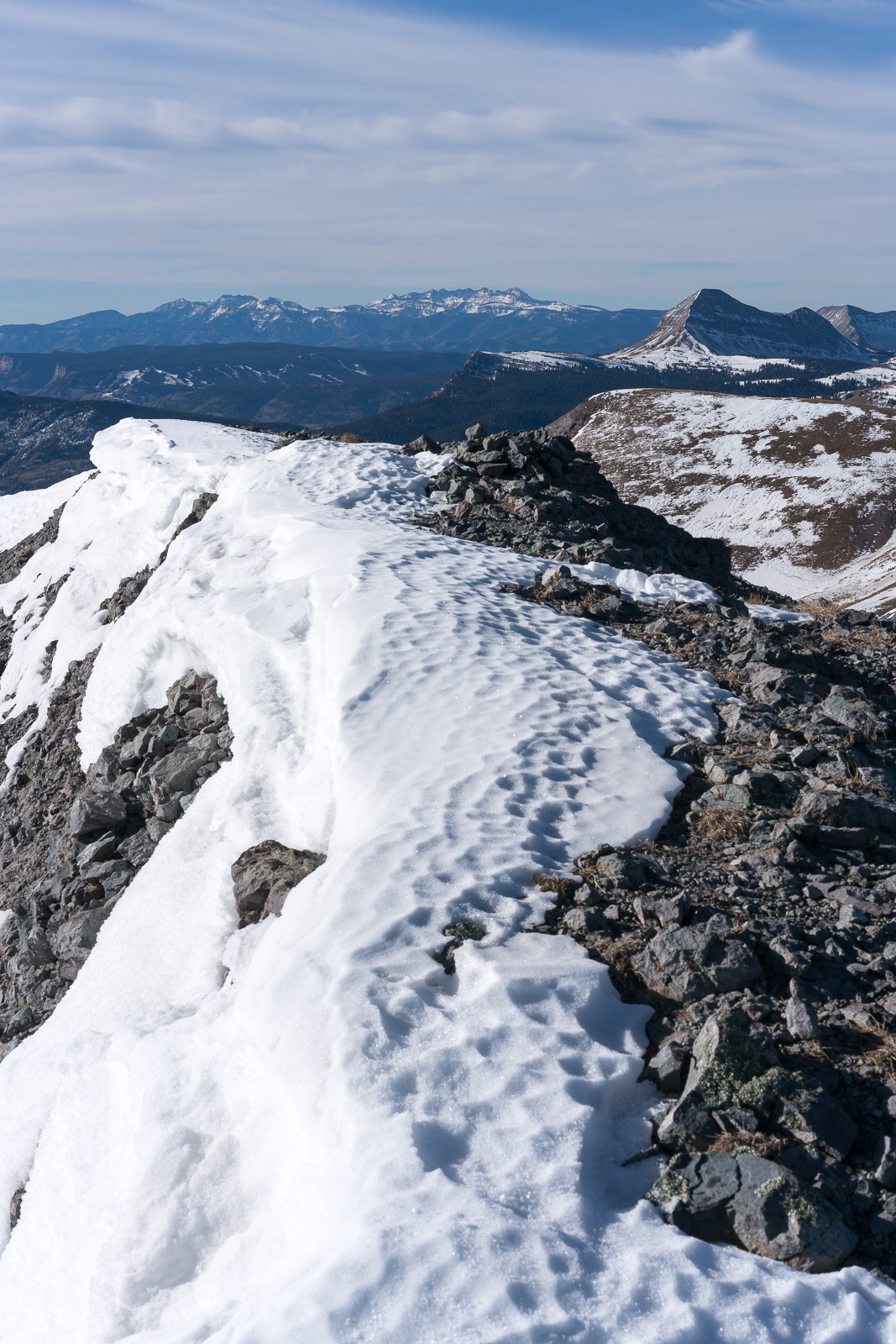 Spencer Peak summit