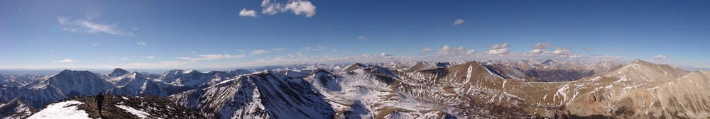 False Summit Pano