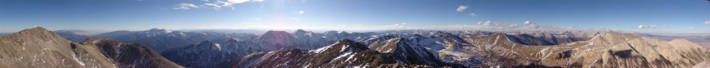 Tabeguache 360 Degree Summit Pano