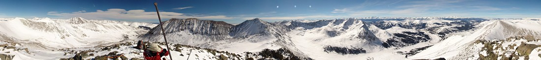 360 Degree Panoramic from Traver Peak