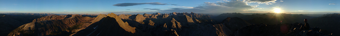 Arrow Peak 360 Degree View