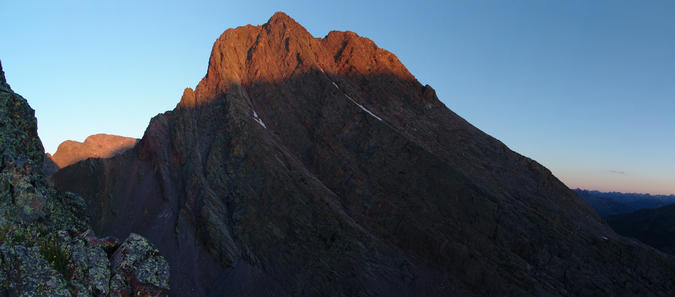 Arrow Peak at Sunrise