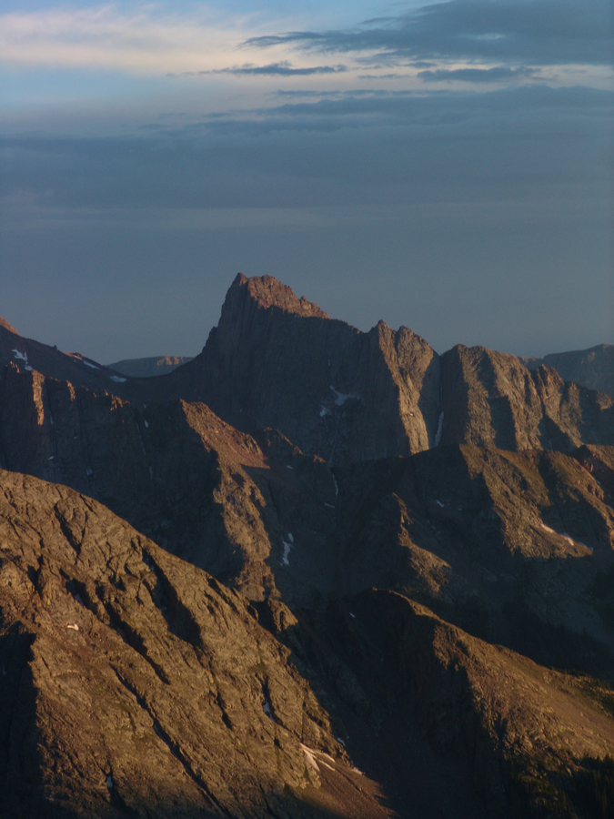 Pigeon Peak at Sunset