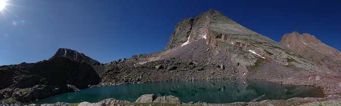 Vestal Lake and Peak