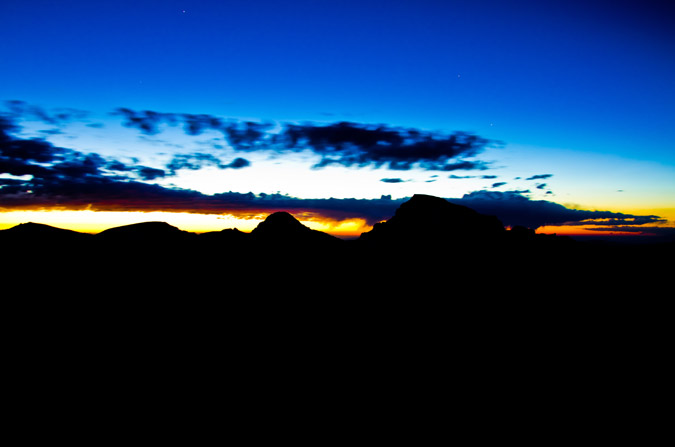 Uncompahgre before sunrise