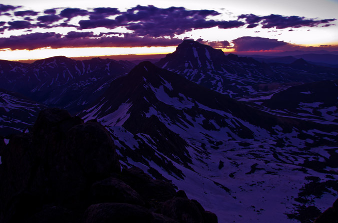 Uncompahgre at dawn