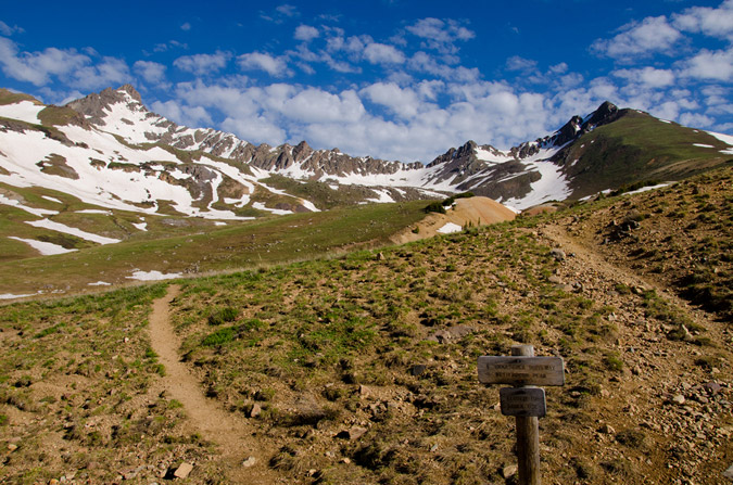 Wetterhorn - Uncompahgre Trail Junction