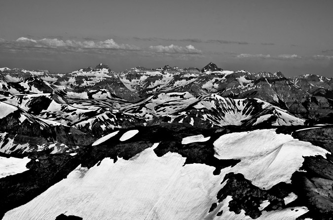 Sneffels Black and White