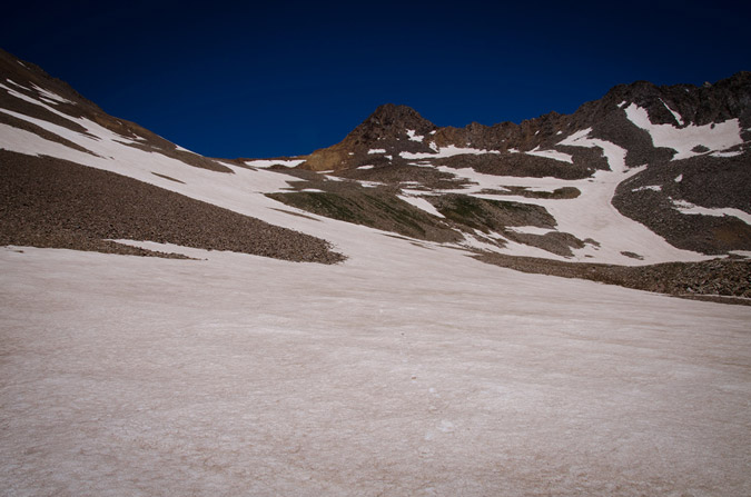Wilson Peak snowfield