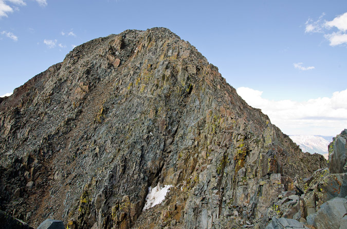 Wilson Peak from the False Summit
