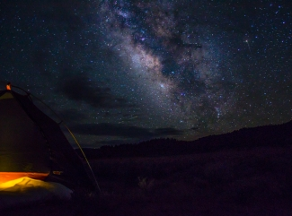 Milky Way over San Luis Valley