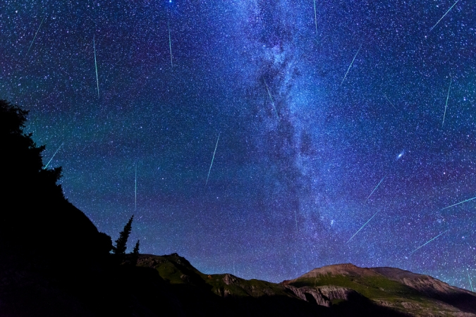 Perseid Meteor Shower at Ice Lake Basin and a climb of Vermillion Peak